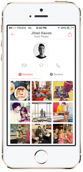 profile Airbnb Moments by Jihad Kawas on mockupd