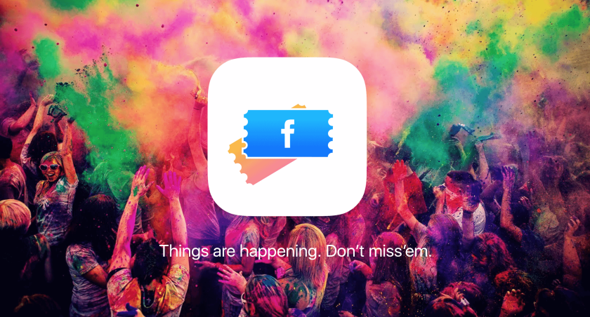 Facebook events app banner by Jihad kawas
